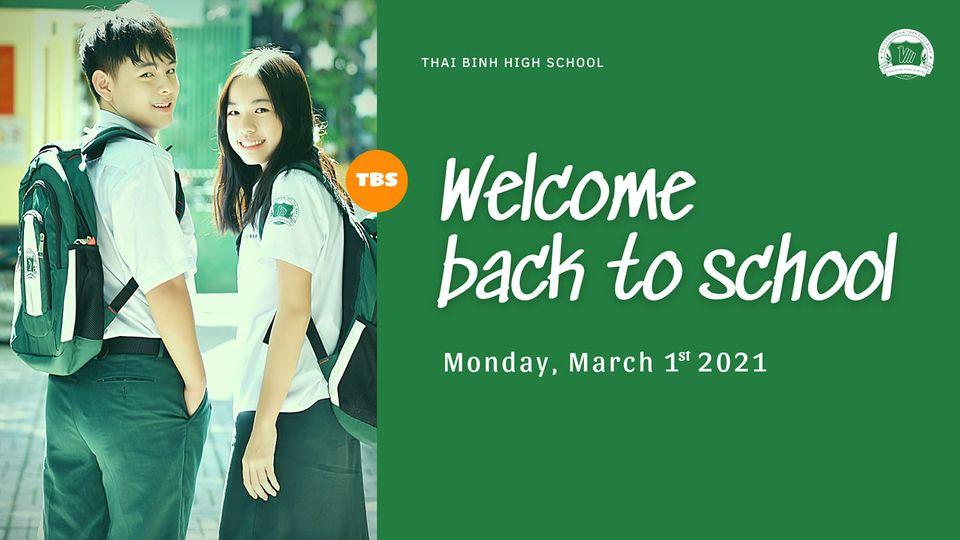 THÔNG BÁO -  Về việc học sinh đến trường học tập từ ngày 01/03/2021
