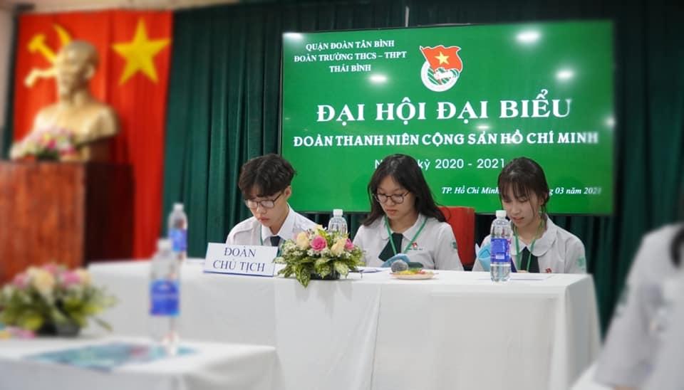 Đại hội đại biểu đoàn thanh niên cộng sản hồ chí minh Trường THCS-THPT THÁI BÌNH
