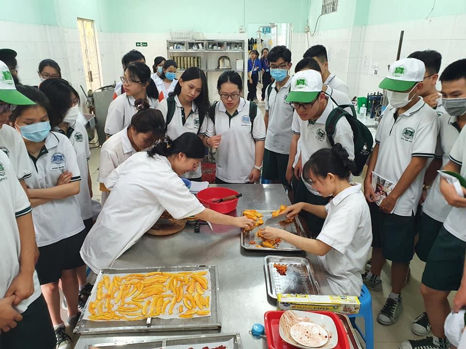 Teens 12 TBS học tập trải nghiệm định hướng nghề nghiệp