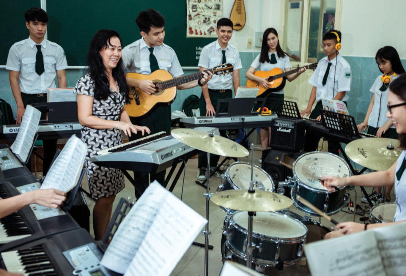 Học phí trường THCS-THPT Thái Bình năm học 2021-2022